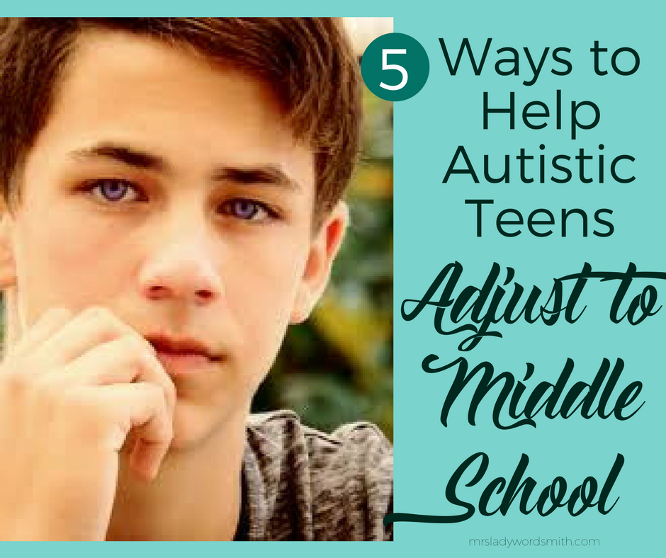 5 Ways to Help Autistic Teens Adjust in Middle School