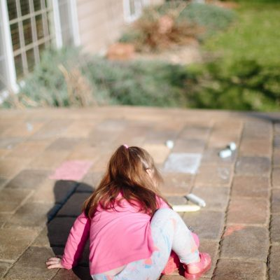 Help Your Child Learn with Sidewalk Chalk