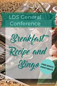 Breakfast and Bingo: LDS General Conference