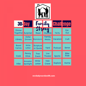 30-Day Family Strong Challenge