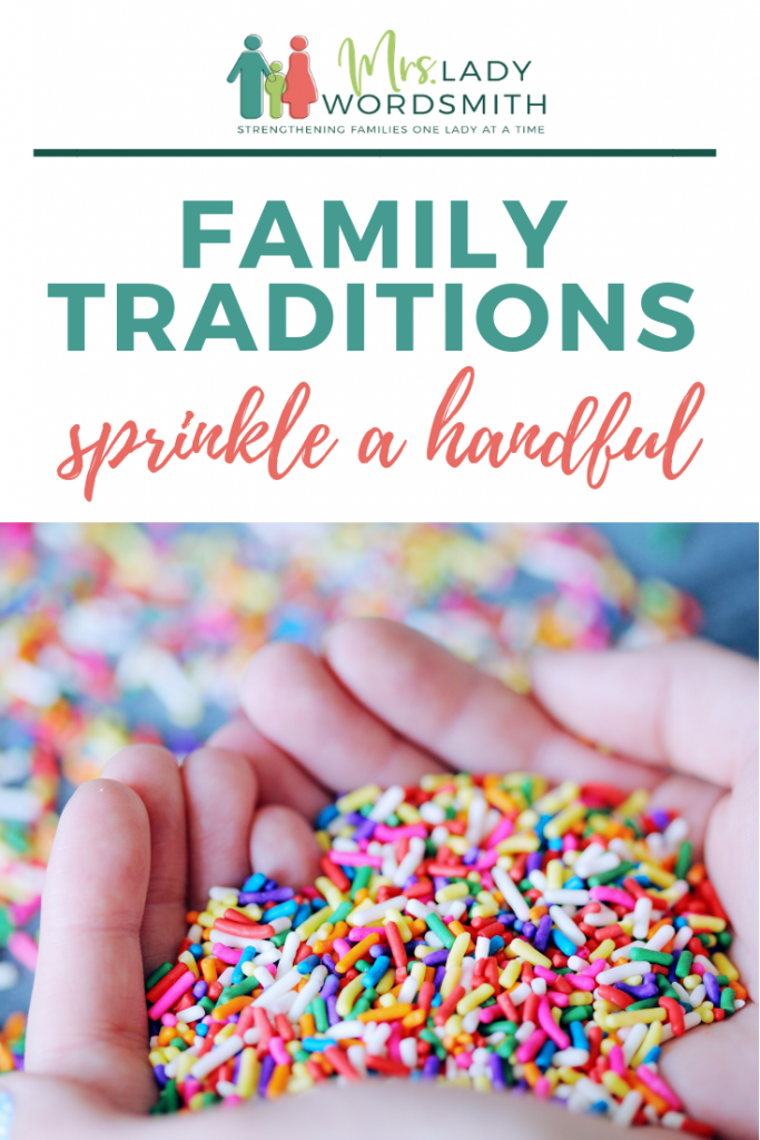 Family traditions should be enjoyed year-round. Here are 30 ways you can sprinkle a little fun throughout all the holidays this year. #family #traditions #kids #children