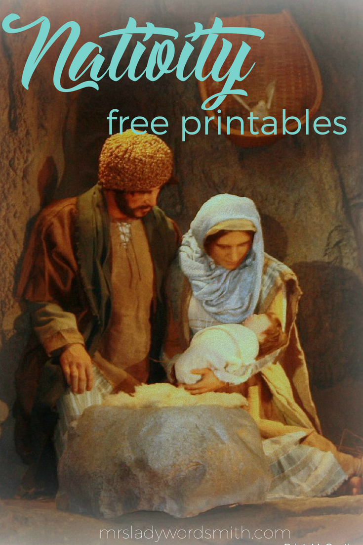 Free printable Nativity gift cards. #christmas #nativity #jesuschrist #christian