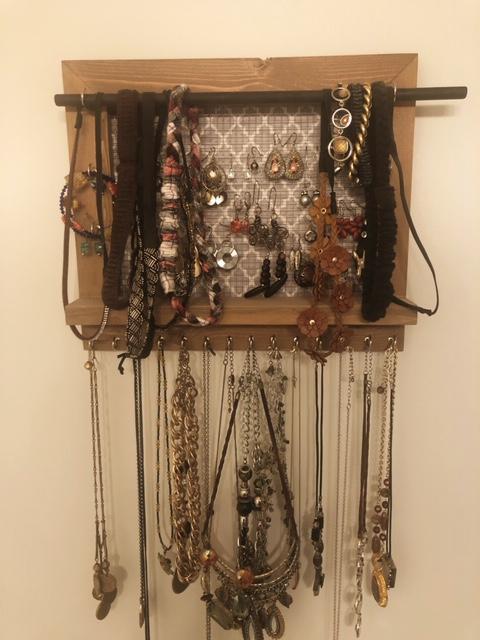 Jewelry Organizer for Wall