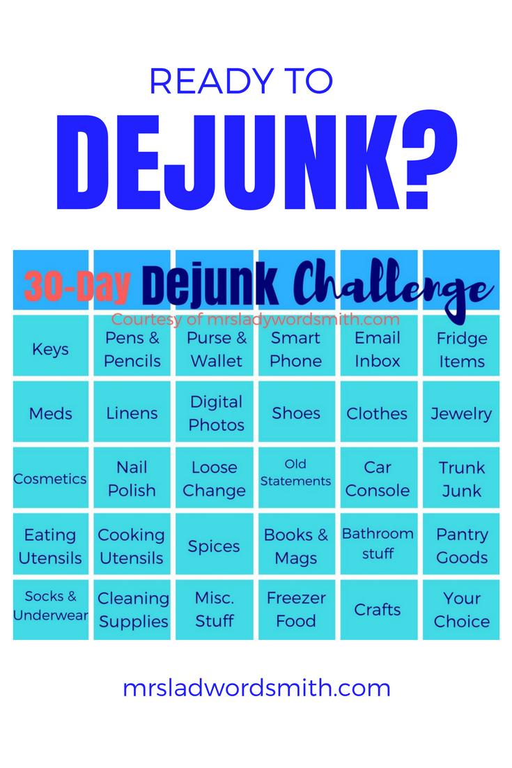 30-Day Dejunk Challenge