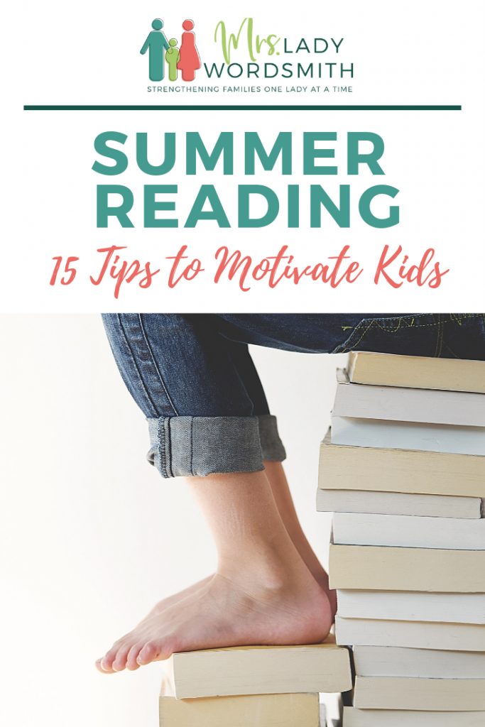 Does your child struggle to read? Summer can be a great time to catch up! Here are great tips to motivate your child to enjoy reading. #summer #reading #children #kids #books #read