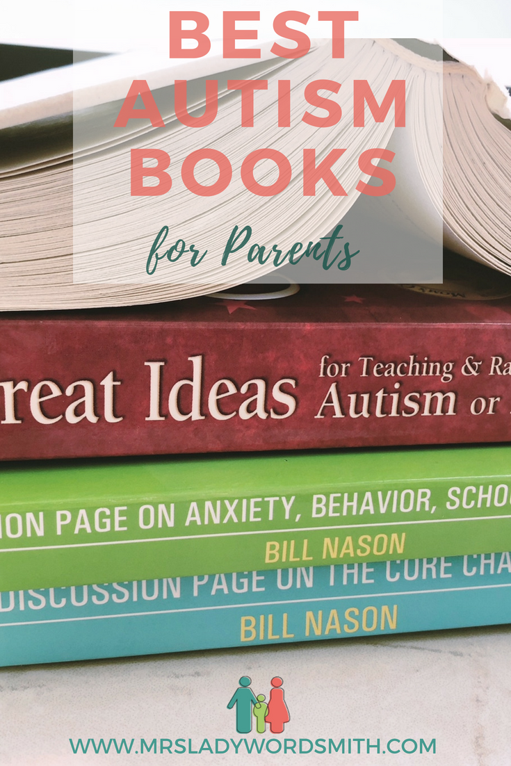 Has your child been diagnosed with autism? If so, you're probably searching for good information to help you and your child. There are lots of autism books available. I recommend this short reading list for starters. #autism #autistic #autismbooks #highfunctioning #activities #behaviormanagement