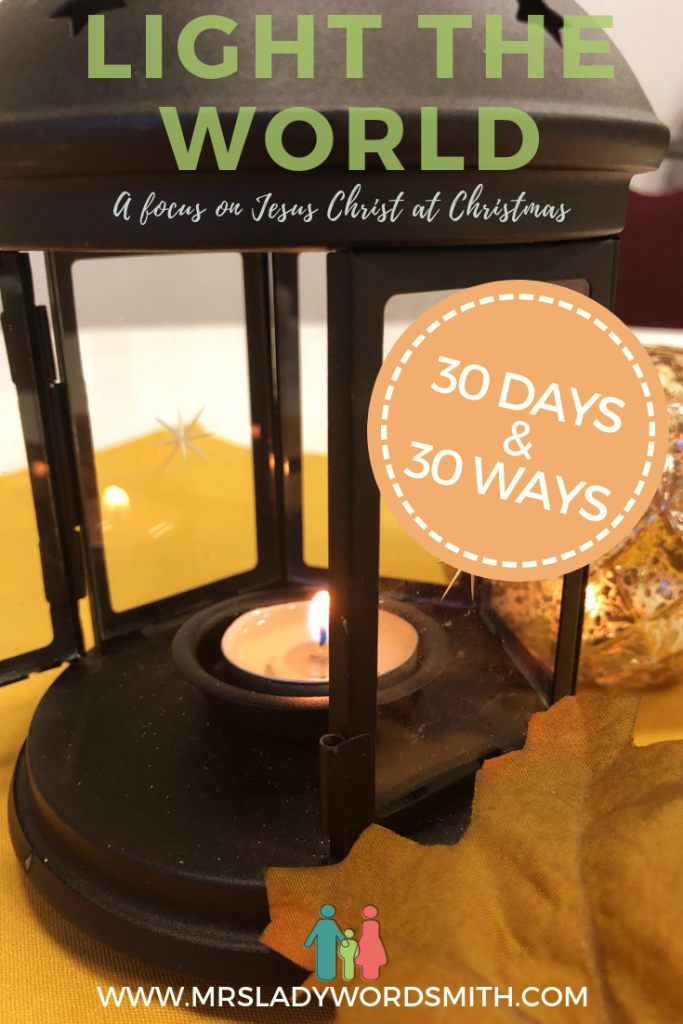 Light the World: 30 Days and 30 Ways