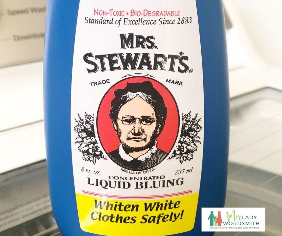 Mrs. Stewart's Liquid Bluing for LDS Temple Garments