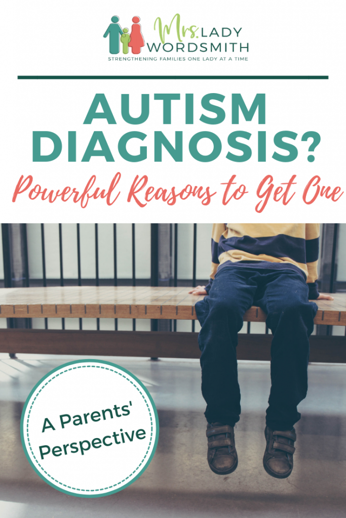 Are you wondering whether you should seek an autism diagnosis for your child or yourself? As parents of a child on the spectrum, we share this straightforward reasoning. #autism #autismdiagnosis #aspergers #highfunctioningautism