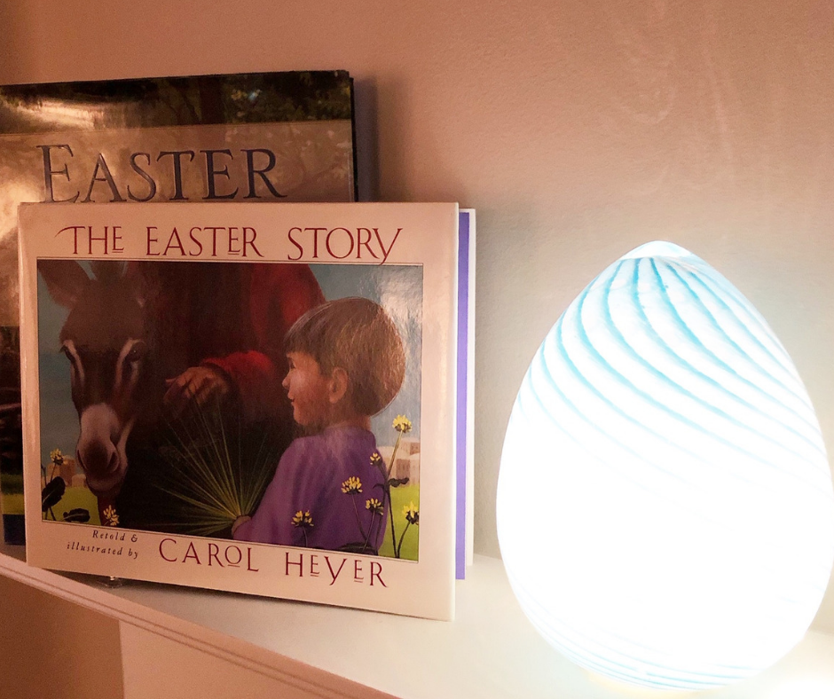 Easter Book Decor