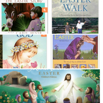 5 Easter Books about Jesus
