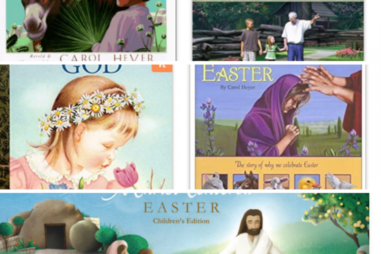 5 Easter Books for Children that Teach about Jesus