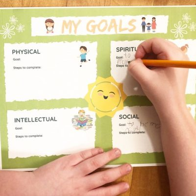 Free Printable Chore Chart for Kids, Home-Centered Learning