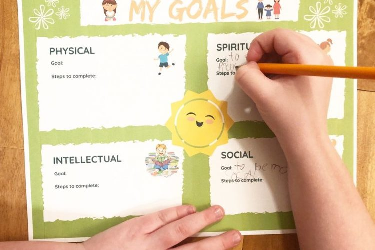 Free Printable Goal Chart for Children