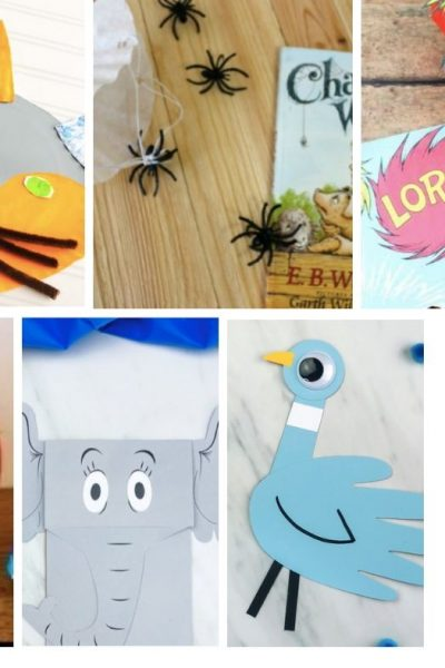 Favorite Children's Books with Crafts to Match