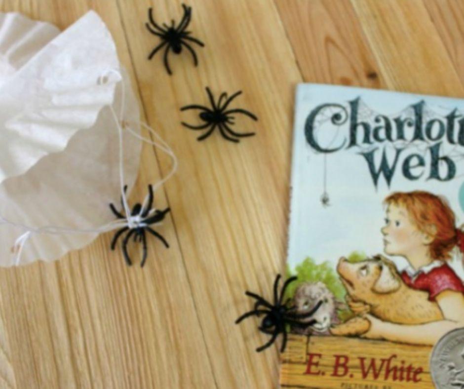 Charlotte's Web Spider Craft