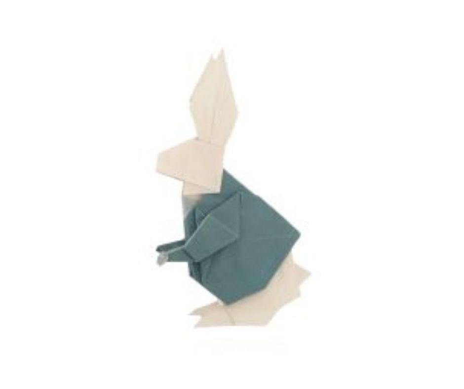 Origami Rabbit for Alice in Wonderland