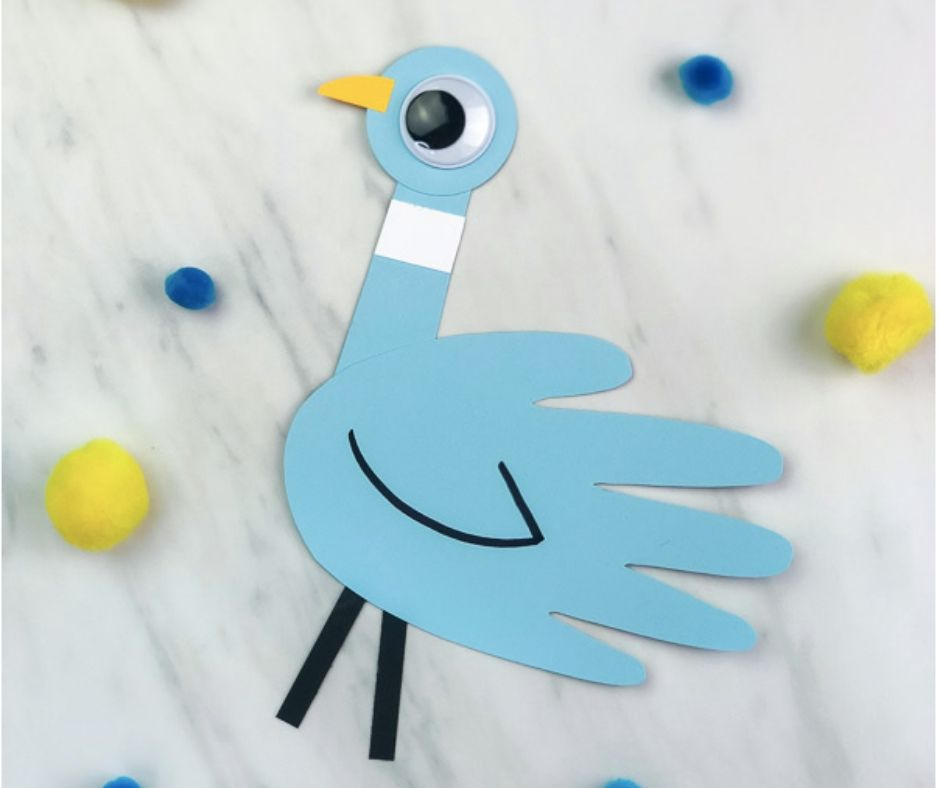 Mo Willems Pigeon Craft