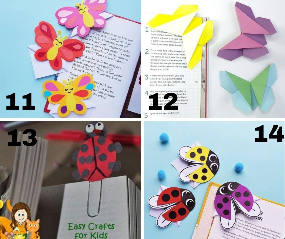 Mega List of FREE DIY Bookmarks