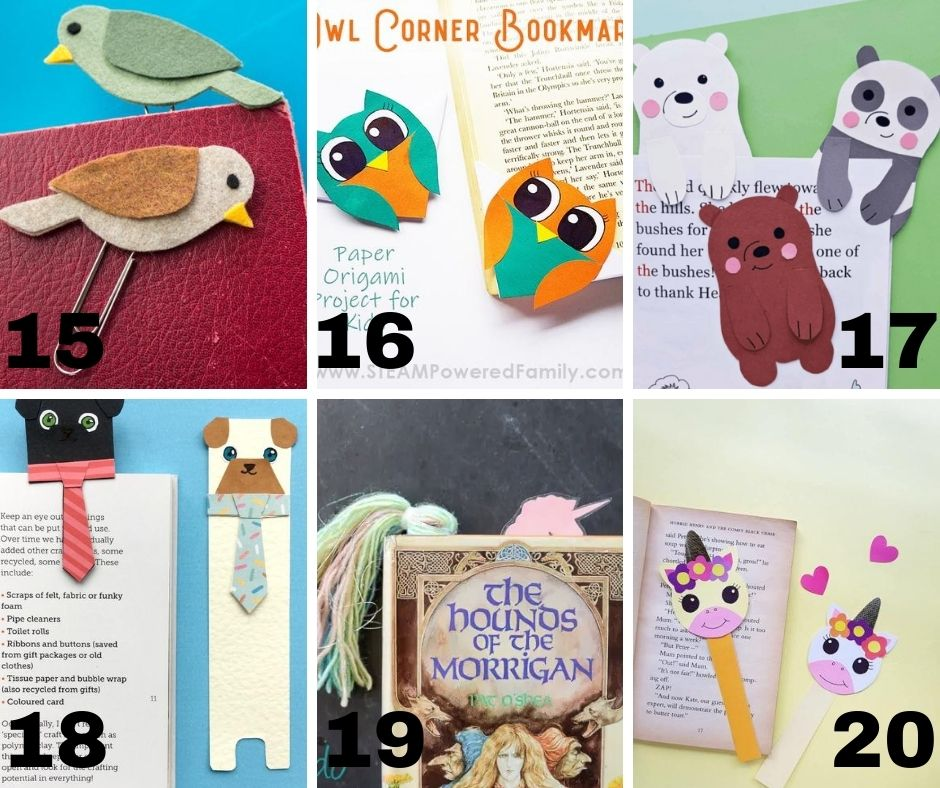 Bookmarks DIY free