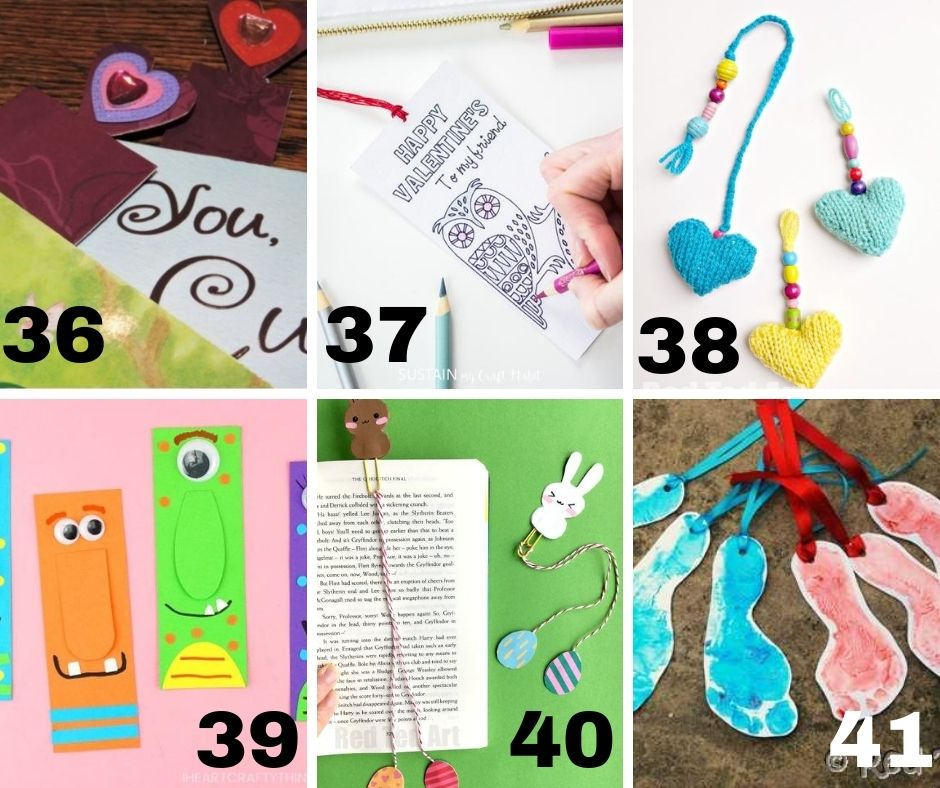 Big list of free DIY bookmarks