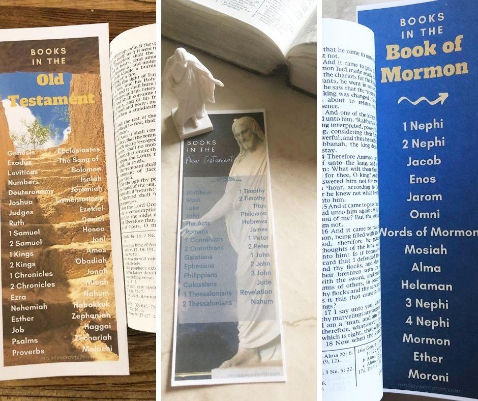 Free scripture bookmarks