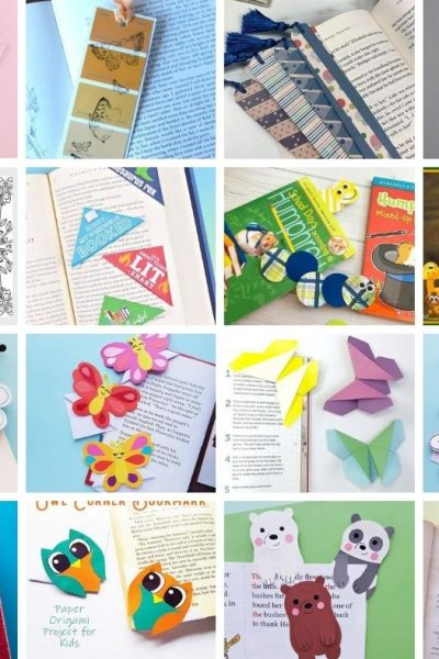 43 free DIY bookmarks