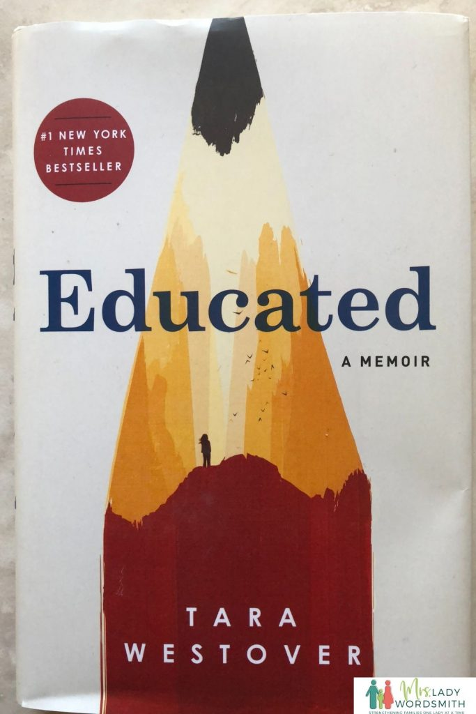 Educated, by Tara Westover. List of 12 Book Club Books to Read in 2021