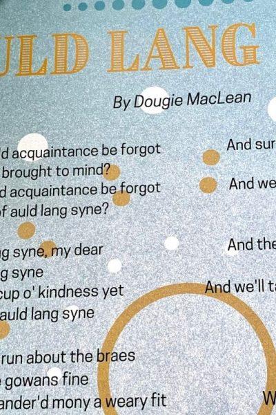 Auld Lang Syne Printable Lyrics