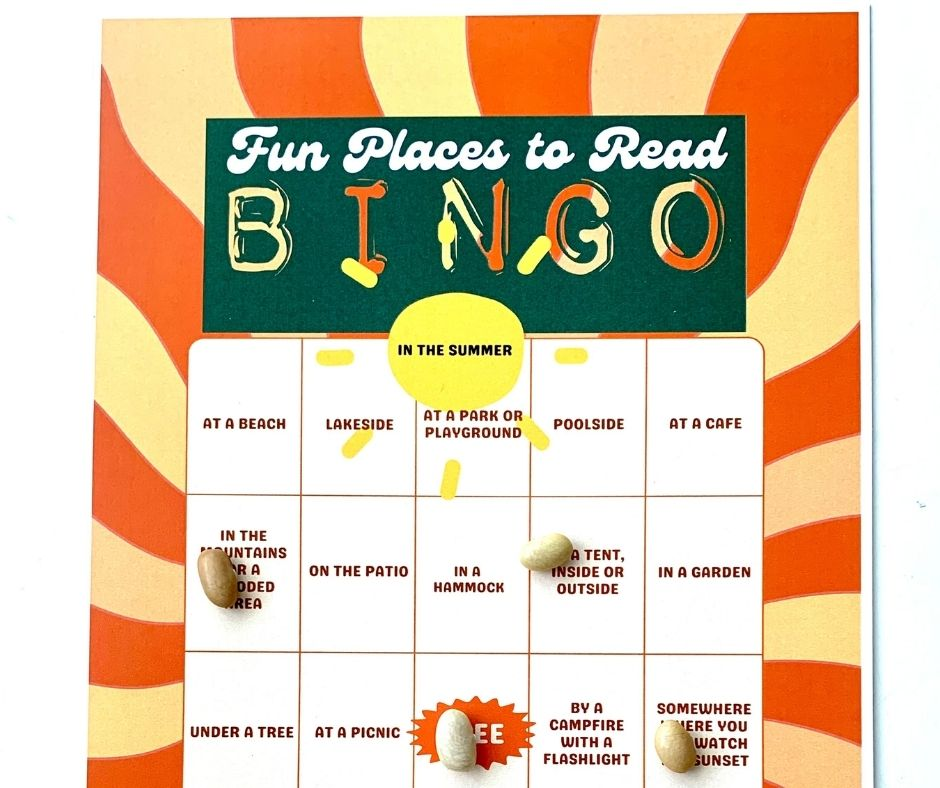Fun Places to Read This Summer Bingo