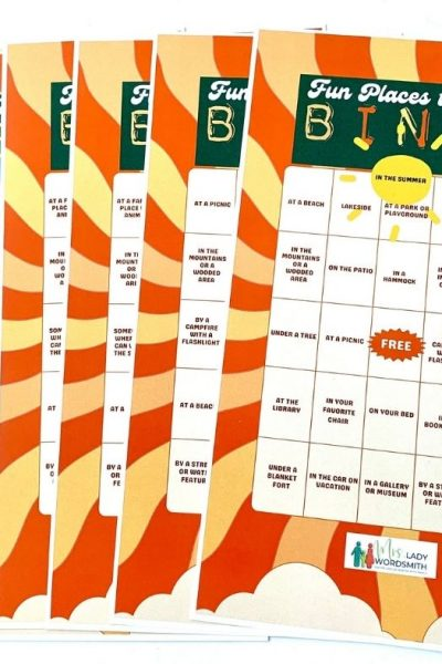 Summer Reading Fun Free Bingo Printables